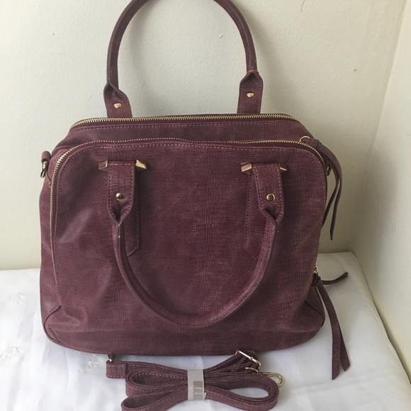 d2518146d2 Violet Ray verstaile faux leather satchel handbag